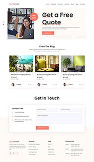 创意产品设计公司网页模板