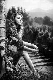 歐美精選黑白美女藝術圖片