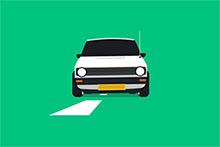 純CSS3繪制汽車路上行駛特效