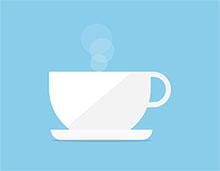 纯CSS3制作杯子热咖啡动画特效