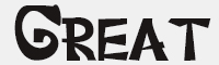 GreatJunggleRegular字體