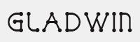 GLADWIN DEMO字體