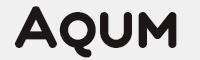 Aqum two字體