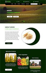 農業發展集團公司網站模板
