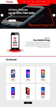 二手舊手機銷售網站模板