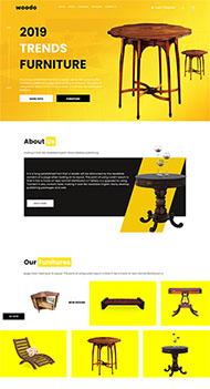 實木家具公司網站模板