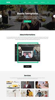 大氣企業官方網站模板
