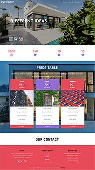 民宿房屋出租企業網站模板