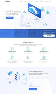 域名服務器租賃公司網站模板