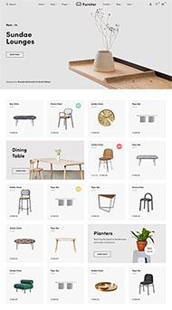 家具商店響應式網站HTML5模板