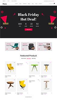 家具店打折促銷網站模板