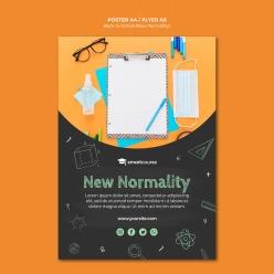 新學期開學季促銷海報