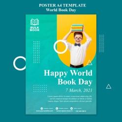 世界读书日活动海报
