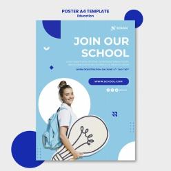 教育理念宣傳海報
