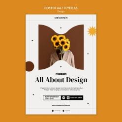 個性創意PSD設計海報