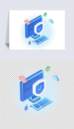 計算機安全元素插圖